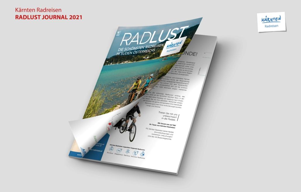 Kärnten Radreisen Journal Cover