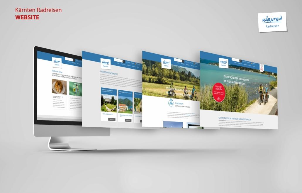 Kärnten Radreisen Website